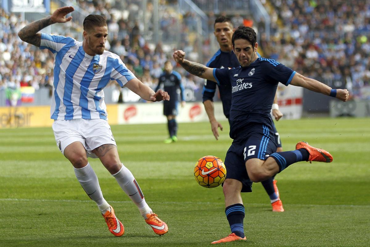 Isco jugó como referencia ofensiva del Real Madrid. (EFE)