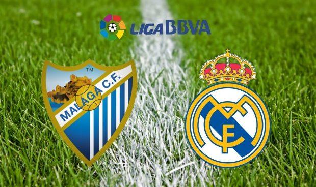 Málaga vs Real Madrid: horario y canal de televisión
