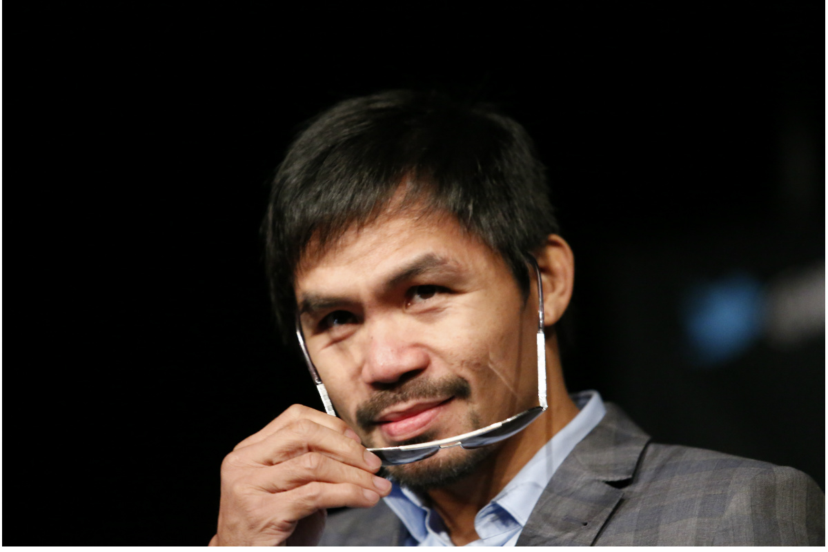 El boxeador filipino, Manny Pacquiao. (Foto: AFP)