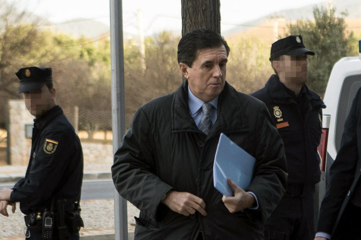 El ex presidente de Baleares Jaume Matas, a su llegada a la vista. (Foto: EFE)