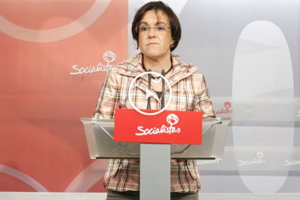 Puri Causapié, portavoz socialista en el Ayuntamiento de Madrid.