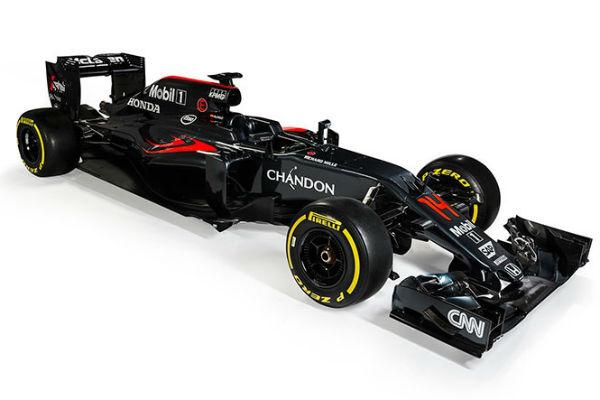 McLaren presentó su monoplaza para 2016.