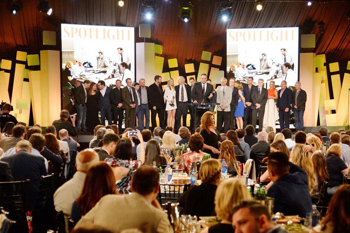 Spotlight fue la sorprendente estatuilla a la mejor película (Foto: Getty)