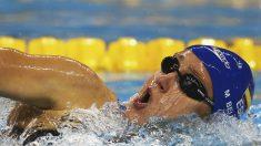 Mireia Belmonte, durante una prueba del último campeonato del mundo. (Getty)