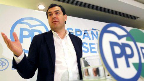 Juanma Moreno, presidente del PP en Andalucía. (Foto: EFE)