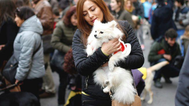 Mujer con su perro (Foto: GUETTY).