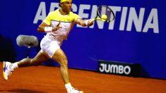 Nadal ganó a Mónaco por un doble 6-4. (Reuters)
