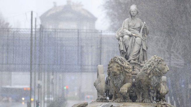 Nieve-Madrid-Cibeles