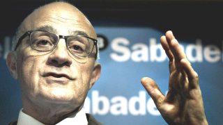 El presidente de Banco Sabadell, Josep Oliú. (Foto: EFE)
