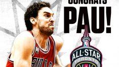 Chicago Bulls felicita a Pau Gasol. (Twitter Chicago Bulls)