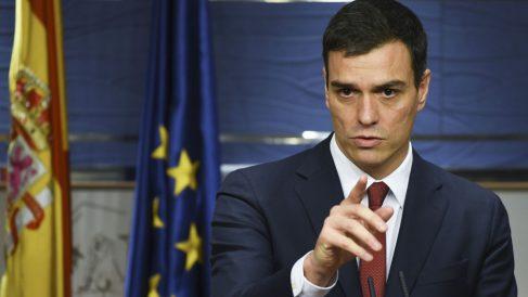 Pedro Sánchez, candidato a la Presidencia del Gobierno. (Foto: AFP)