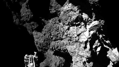 Philae tuvo actividad sobre el cometa durante 60 horas. (Foto: AFP)