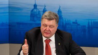 Petro Poroshenko, en la cumbre de seguridad de Múnich. (Foto: Getty)