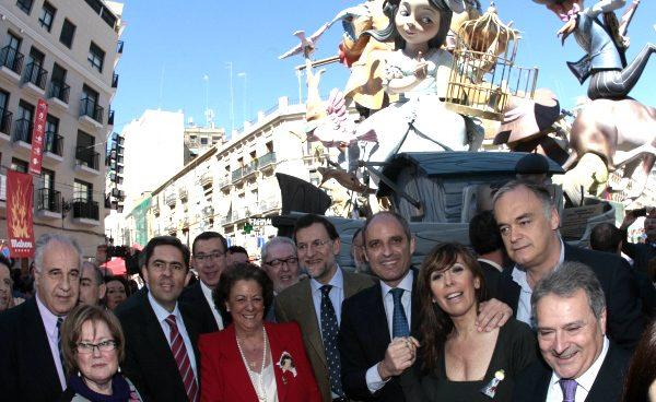 Rita Barberá pagó con dinero público una comida del PP a la que asistió Rajoy