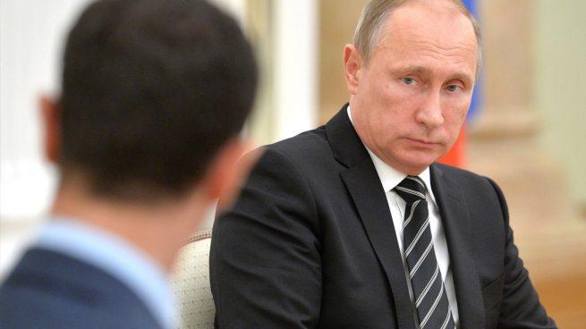 Vladimir Putin y Bashar Al Assad
