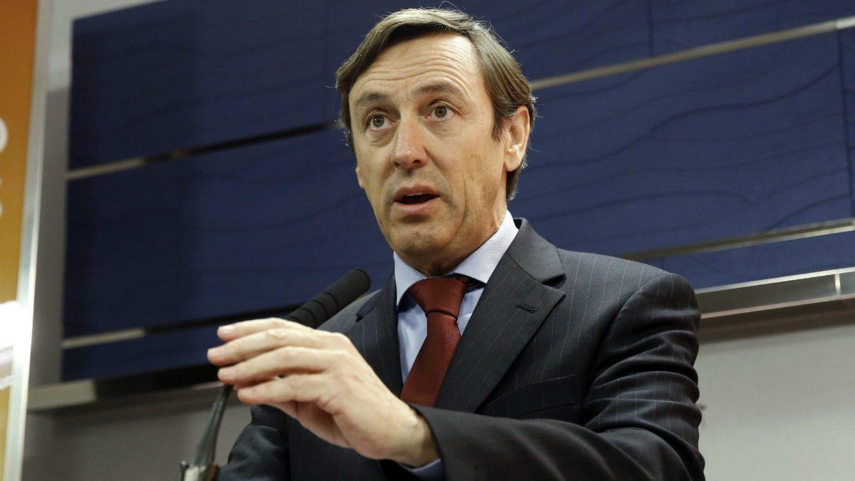 Rafael Hernando. (Foto: EFE)