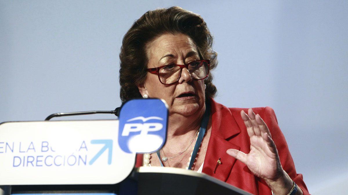 Rita Barberá en una imagen del pasado año.