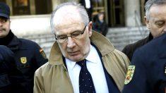 Rodrigo Rato al llegar al juzgado