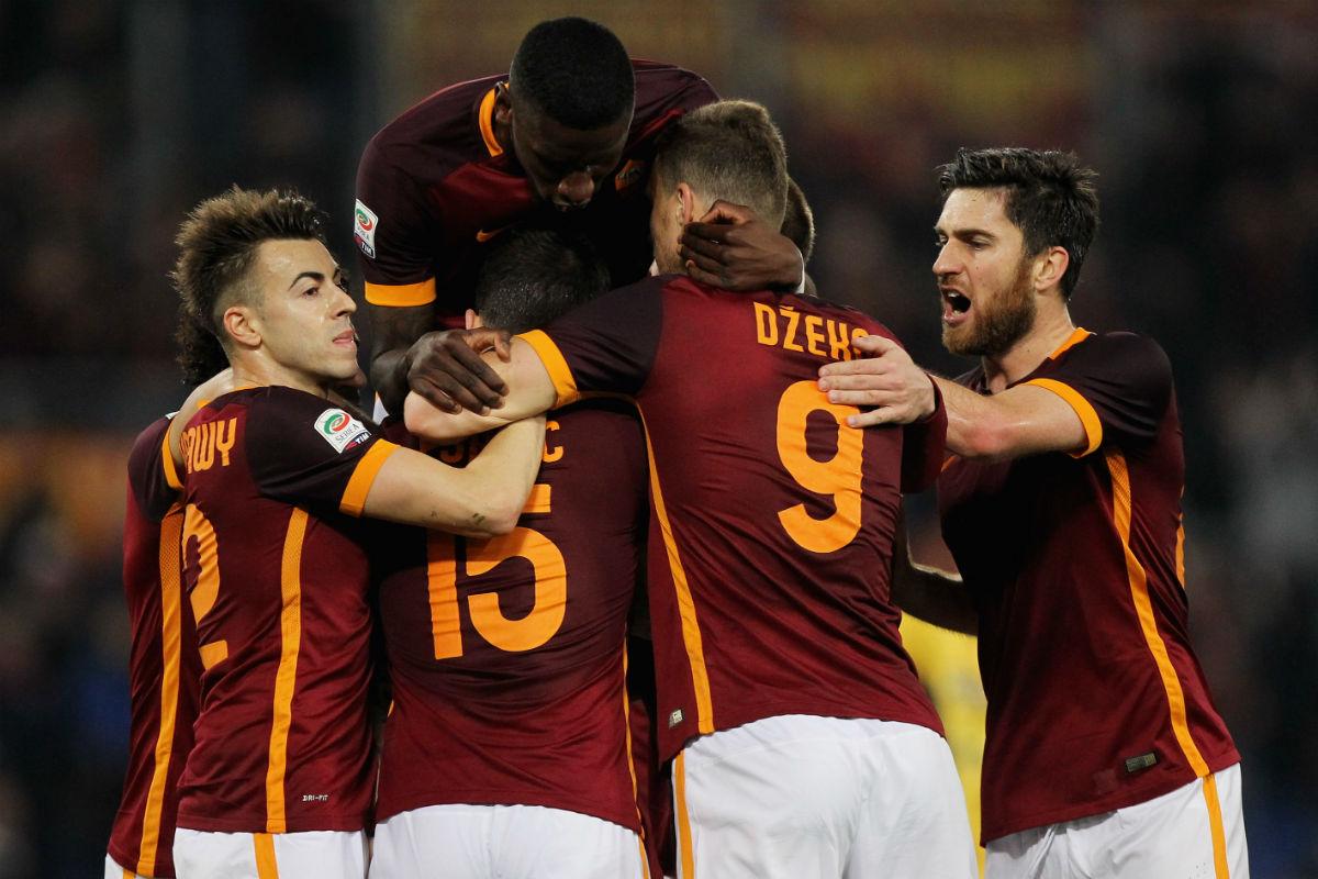 La Roma se enfrenta al Real Madrid en los octavos de Champions. (Getty)