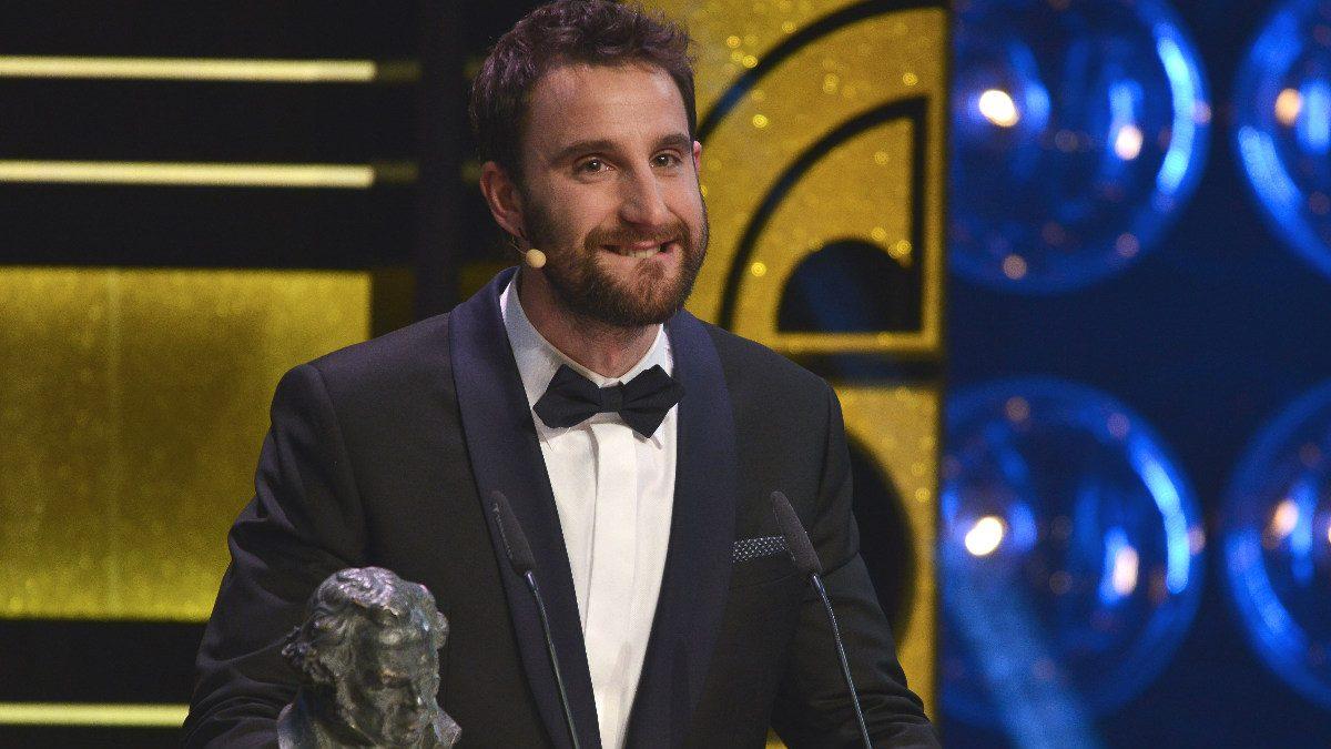 Dani Rovira durante la gala de los Premios Goya.