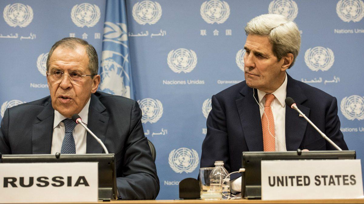 Sergei Lavrov y John Kerry (Foto: Reuters)