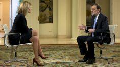Susana Griso ha entrevistado a Mariano Rajoy en La Moncloa. (Foto: EFE)