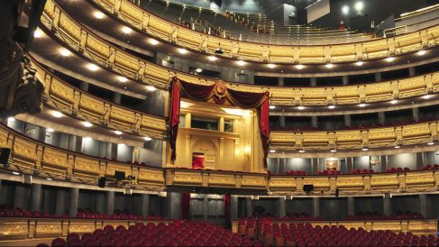 Teatro Real de Madrid.