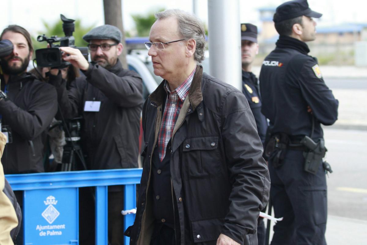 Marco Antonio Tejeiro, a su llegada este viernes al tribunal. (Foto: EFE)