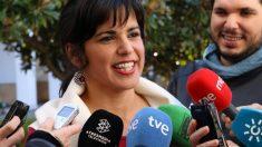 Teresa Rodríguez. (Foto: EFE)