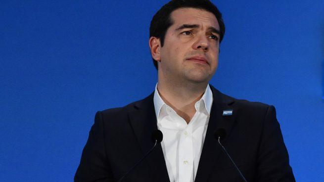 Alexis Tsipras, en una reciente rueda de prensa. (Foto: Getty)
