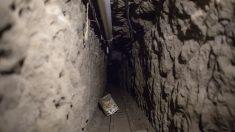 Túnel usado por el narcotraficante Joaquín Guzmán. (Foto: Getty)