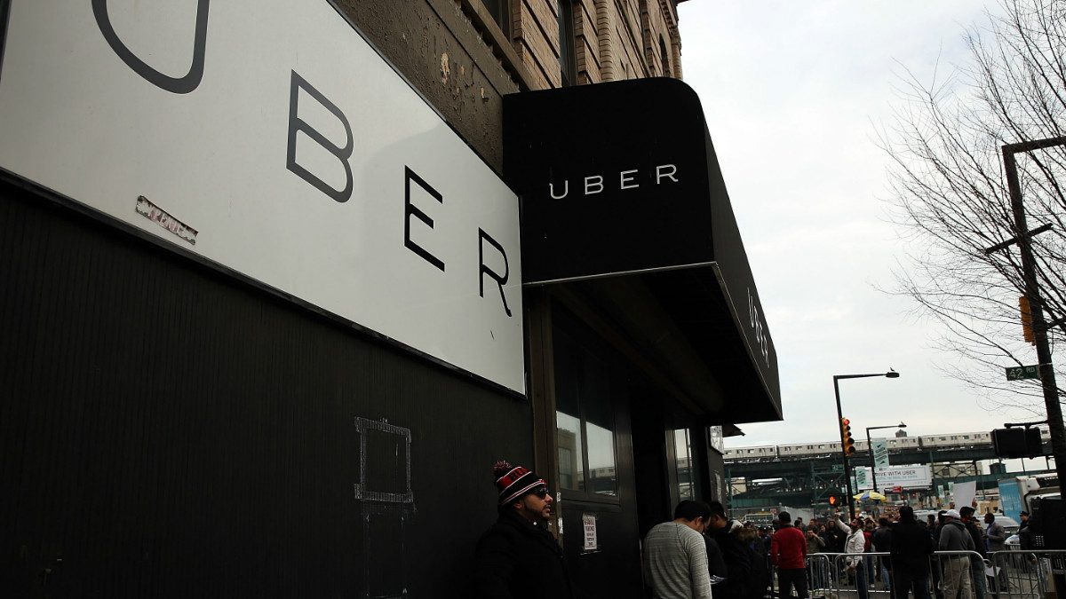 Las oficinas de Uber en Nueva York.
