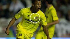 Uche tiene la misión de marcar goles para el Málaga.