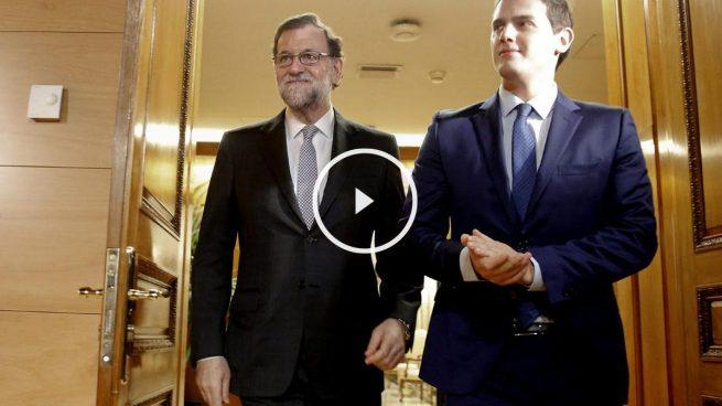 Rajoy y Rivera intercambian documentos de trabajo para negociar un acuerdo