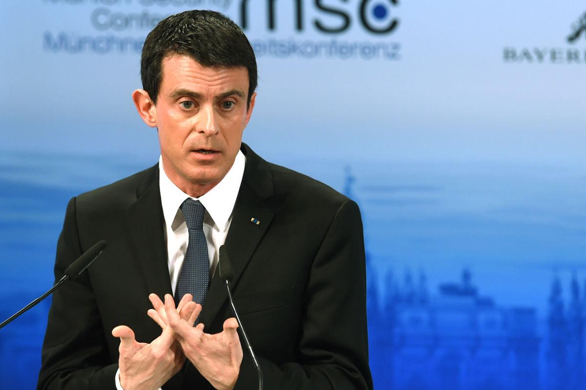 Manuel Valls en una reciente imagen (Foto: AFP).