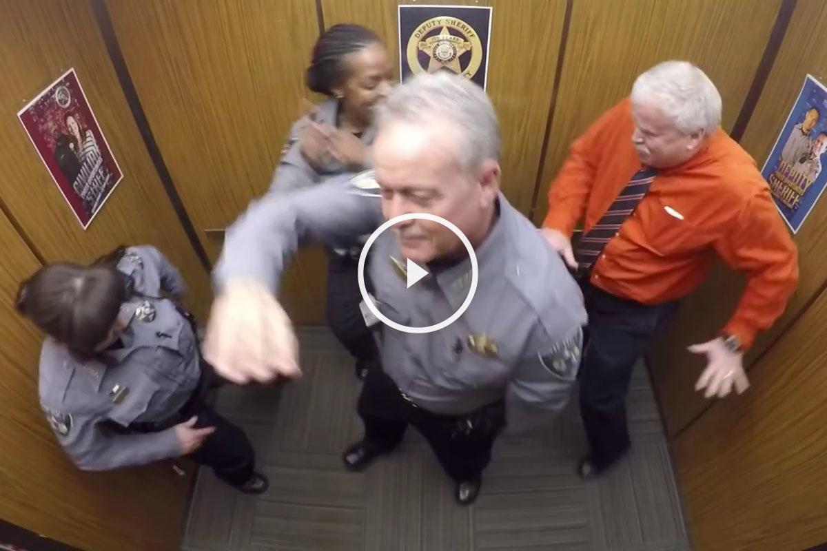 sheriff bailando