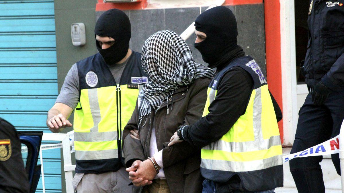 Terrorista detenido (Foto: EFE)