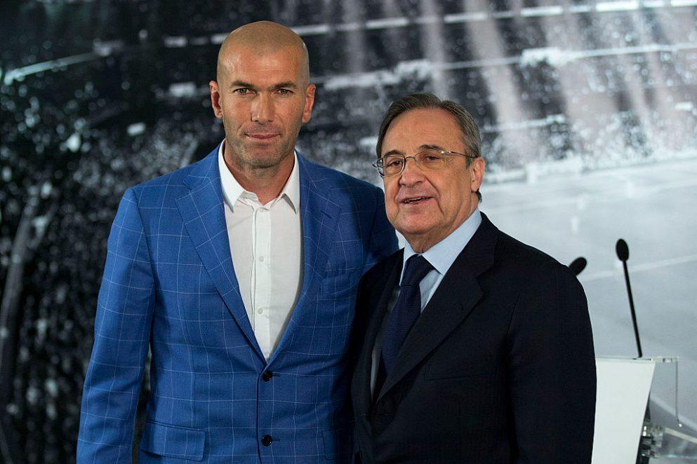 Sigue en directo la Rueda de prensa de Zidane como nuevo entrenador del Real Madrid