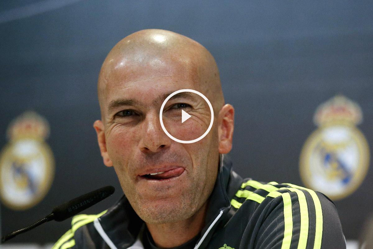 Zinedine Zidane compareció ante los medios de comunicación, previo al partido del Athletic. (Reuters)