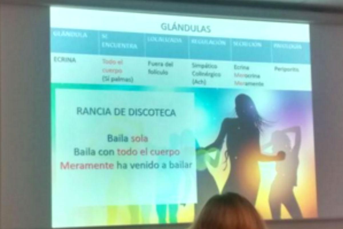 """Noticias Guarras un profesor barcelonés en clase: """"las mujeres son guarras de"""