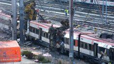 Estado en que quedaron los trenes en el 11M.