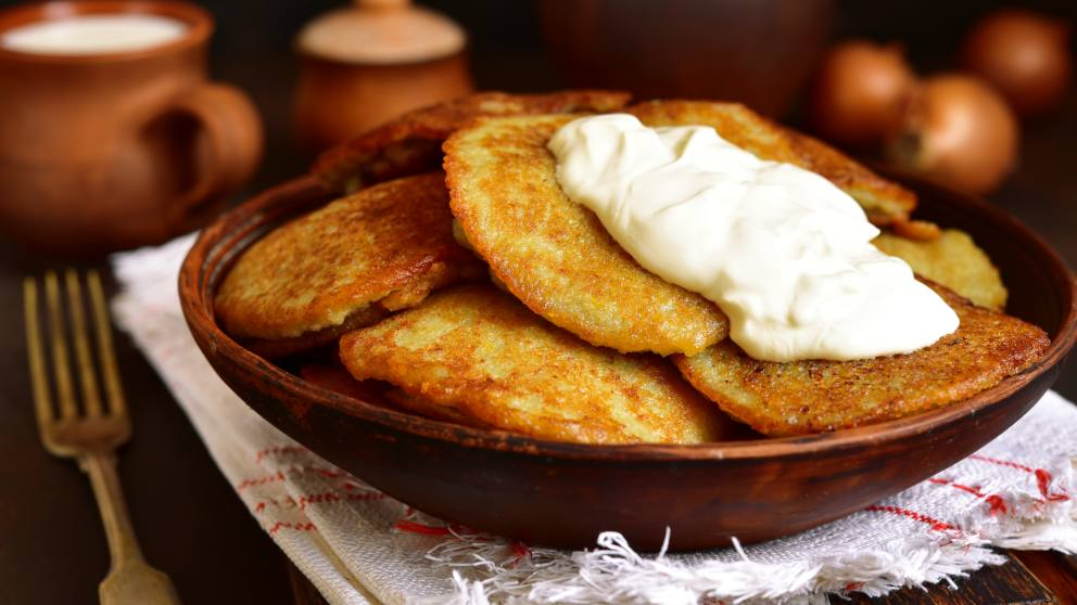Receta de tortitas de patata caseras