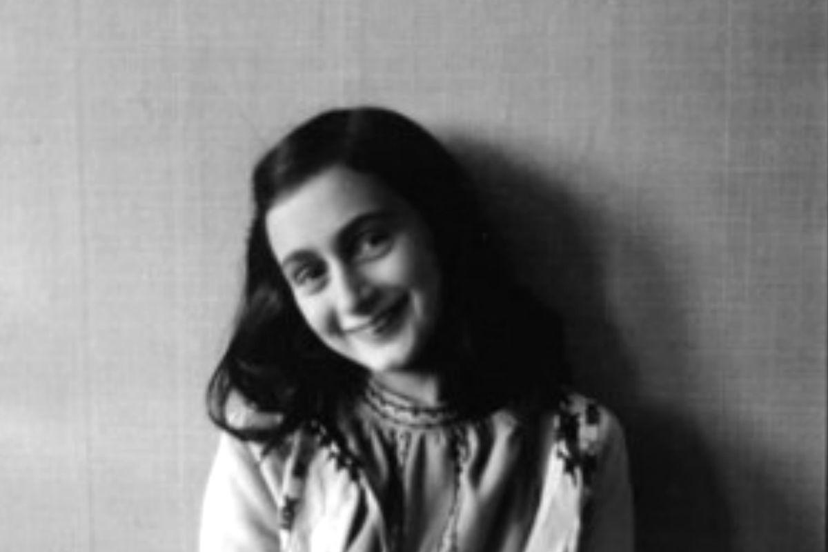 Retrato de la alemana Ana Frank antes de que estallara la II Guerra Mundial.