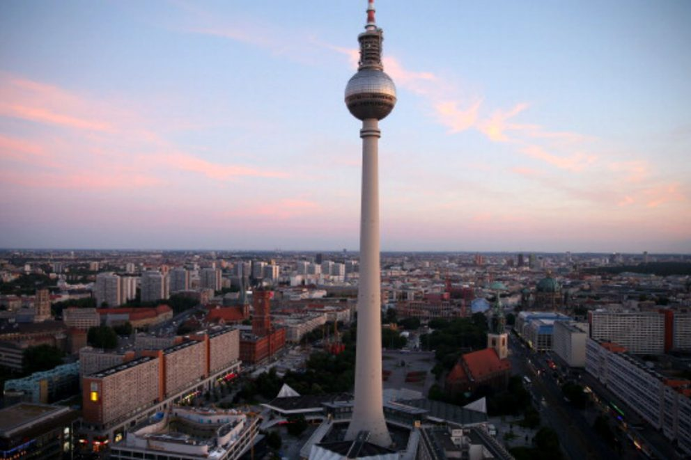 Imagen de la plaza Alexander de Berlín. (Getty)