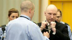 El noruego Anders Behring Breivik durante su juicio por la masacre que cometió en el 2011. (Getty)