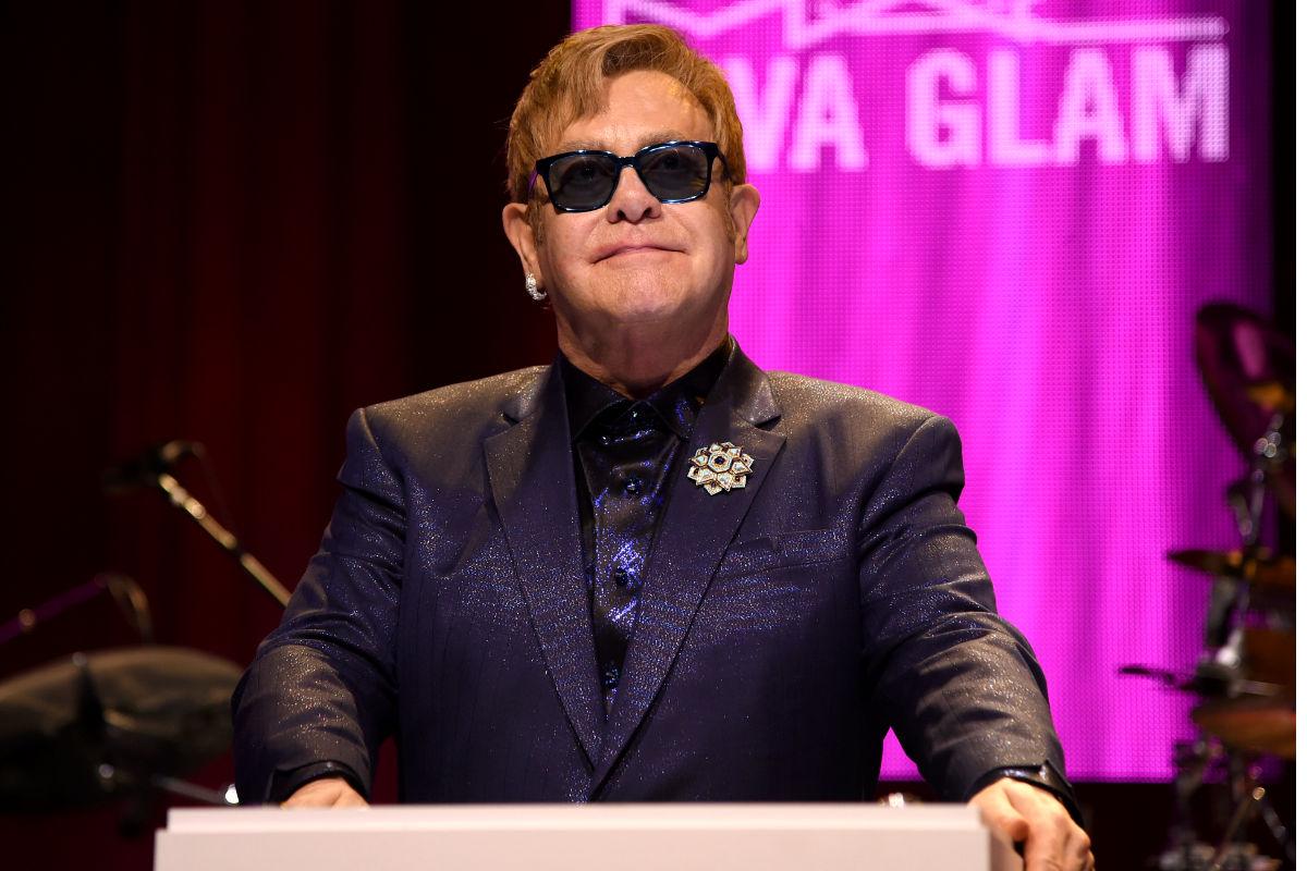 Imagen del británico Elton John en un acto celebrado en Los Ángeles el pasado 28 de febrero. (Getty)