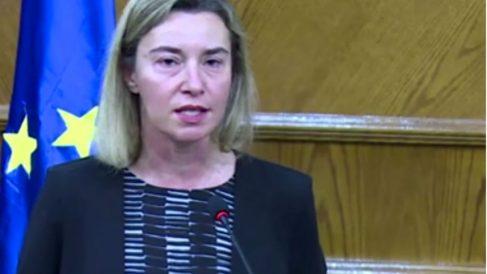 Imagen de la política Federica Mogherini.