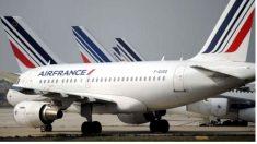 Imagen de un avión de la compañía francesa Air France. (Getty)
