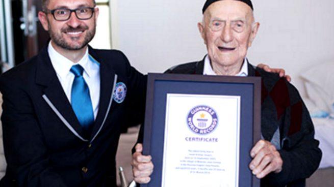 El hombre más viejo del mundo pasó cuatro años en Auschwitz