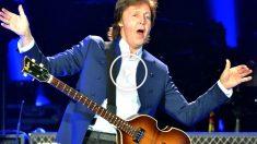 Imagen de Paul McCartney durante uno de sus últimos conciertos. (Getty)